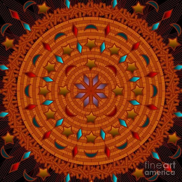 Digital Art - Basket Weaving 2012 by Kathryn Strick