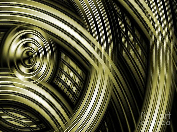 Wicker Basket Digital Art - Basket Weaving by Stan Reckard