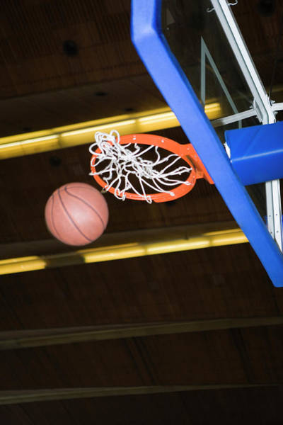 Hoop Photograph - Basketball by Gustoimages/science Photo Library