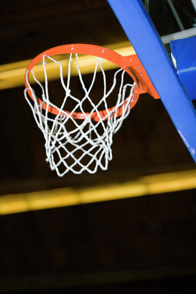 Hoop Photograph - Basketball Net by Gustoimages/science Photo Library