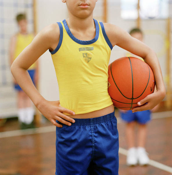 Wall Art - Photograph - Basketball Player by Martin Riedl/science Photo Library