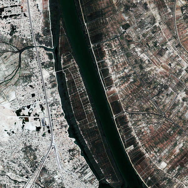 Iraqi Photograph - Basra by Geoeye/science Photo Library