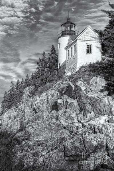 Photograph - Bass Harbor Head Light II by Clarence Holmes