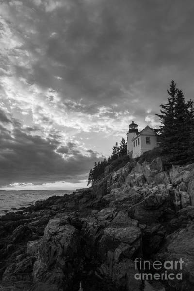 Mv Photograph - Bass Harbor Head Light by Michael Ver Sprill
