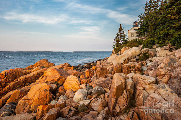 Photograph - Bass Harbor Head Light by Susan Cole Kelly