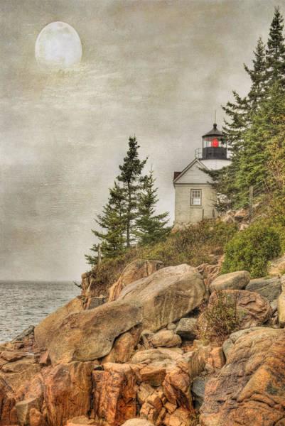 Bass Harbor Head Lighthouse. Acadia National Park Art Print