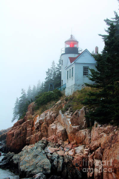 Art Print featuring the photograph Bass Harbor Head Lighthouse by Jemmy Archer