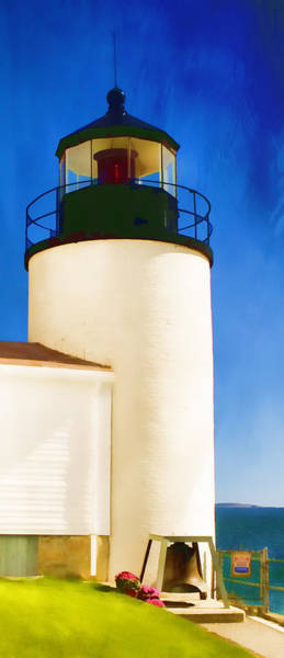 Wall Art - Photograph - Bass Harbor Head Lighthouse Maine by Carol Leigh