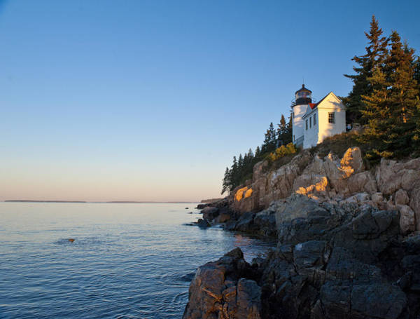 Photograph - Bass Harbor Light Sunrise by Rick Hartigan