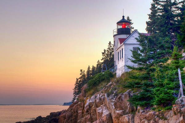 Photograph - Bass Harbor Lighthouse by At Lands End Photography