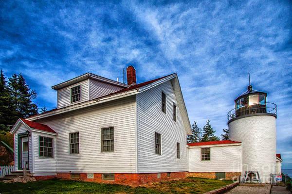 Photograph - Bass Harbor Lighthouse by Jim McCain