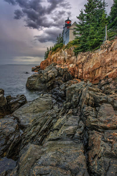 Keeper Photograph - Bass Harbor Lighthouse by Rick Berk