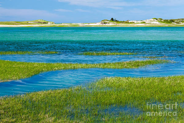 Photograph - Bass Hole Blue by Susan Cole Kelly