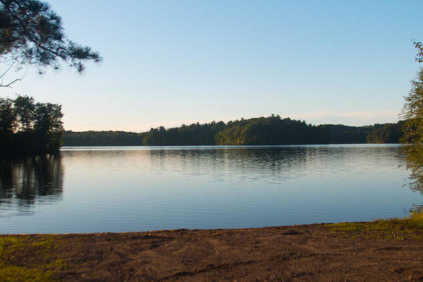 Sturgeon River Photograph - Bass Lake by Robert Torkomian