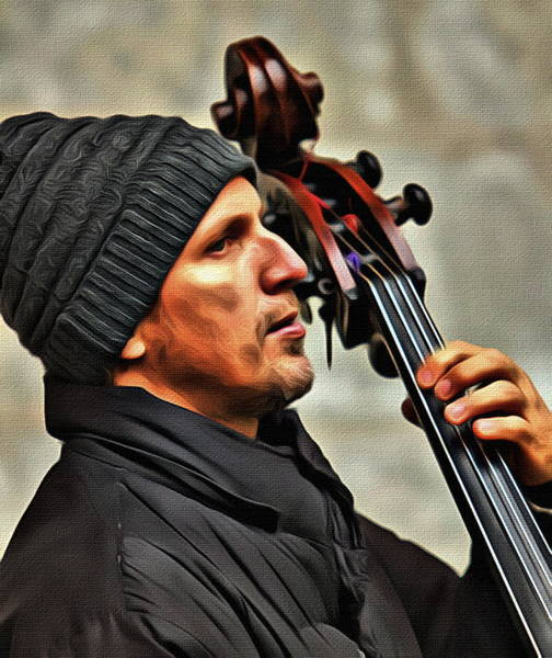 Photograph - Bass Musician by Alice Gipson