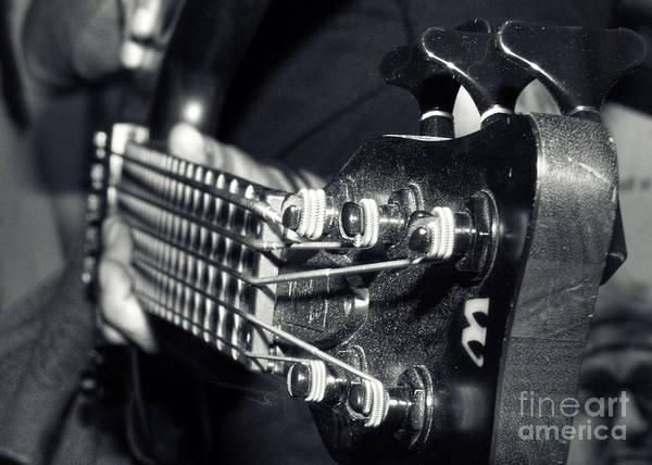 Bass Player Wall Art - Photograph - Bass  by Stelios Kleanthous