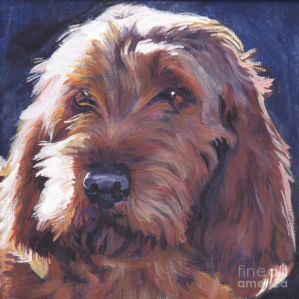 Fauve Painting - Basset Fauve De Bretagne by Lee Ann Shepard
