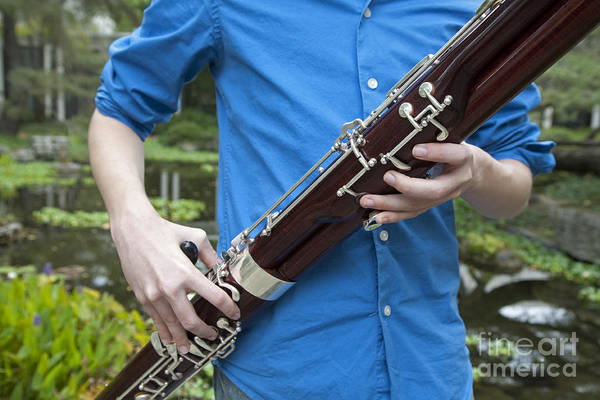 Photograph - Bassoon Player by Jim West