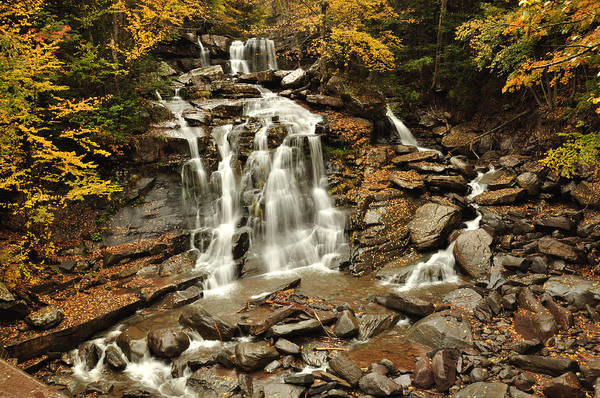 Kaaterskill Clove Photograph - Bastion Falls by Adam Paashaus