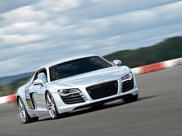 Photograph - Bat Out Of Hell - Audi R8 by Gill Billington