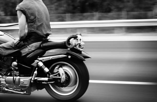 Biker Photograph - Bat Out Of Hell by Laura Fasulo