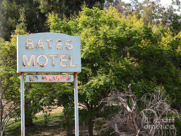 Photograph - Bates Motel 5d28623 by Wingsdomain Art and Photography
