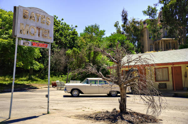 Wall Art - Photograph - Bates Motel by Ricky Barnard