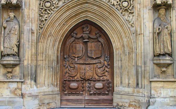 Bath Abbey Photograph - Bath Abbey Doors 8477 by Jack Schultz