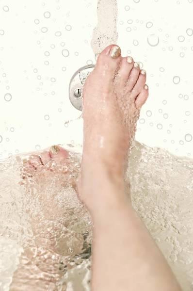 Bubble Bath Photograph - Bath by Diana Angstadt