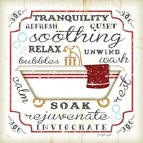 Sink Painting - Bath II by Jennifer Pugh