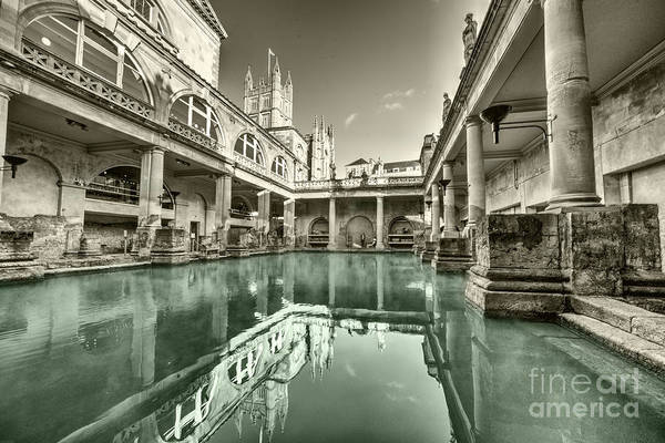Bath Abbey Photograph - Bath Of Bath  by Rob Hawkins