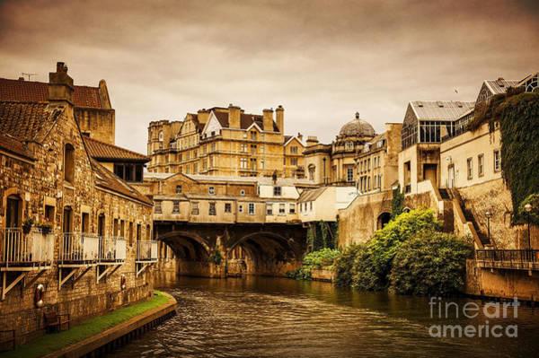 Bath Abbey Photograph - Bath by Svetlana Sewell
