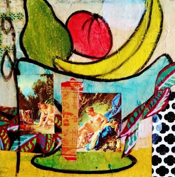 Avocado Mixed Media - Bathers And Banana by Melinda Jones