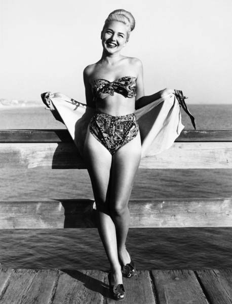 Photograph - Bathing Suit, 1949 by Granger