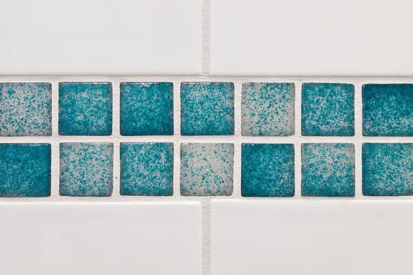 Pixel Photograph - Bathroom Tiles by Tom Gowanlock