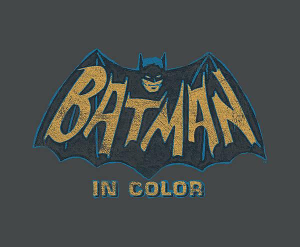 Batman Digital Art - Batman Classic Tv - In Color by Brand A