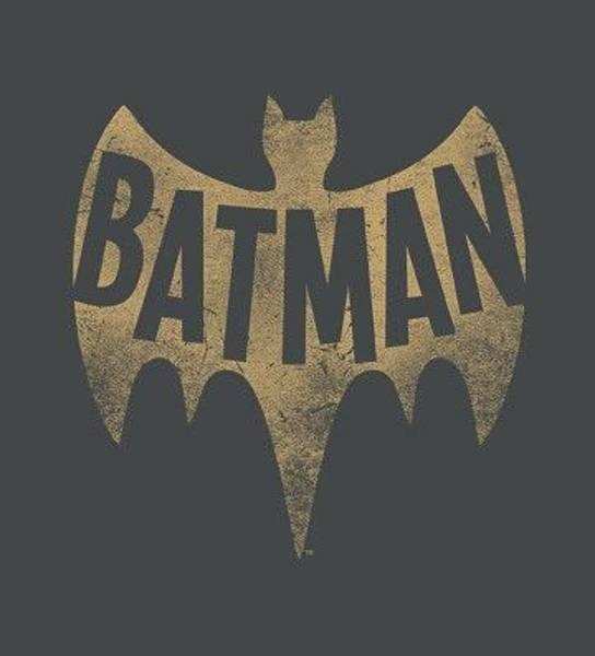Batman Digital Art - Batman Classic Tv - Vintage Logo by Brand A