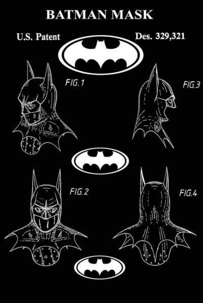 Wall Art - Digital Art - Batman by Dan Sproul