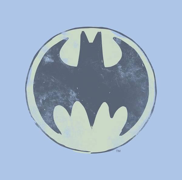 Batman Digital Art - Batman - Old Time Logo by Brand A