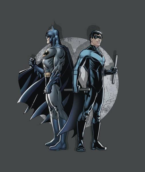 Batman Digital Art - Batman - Spotlight by Brand A