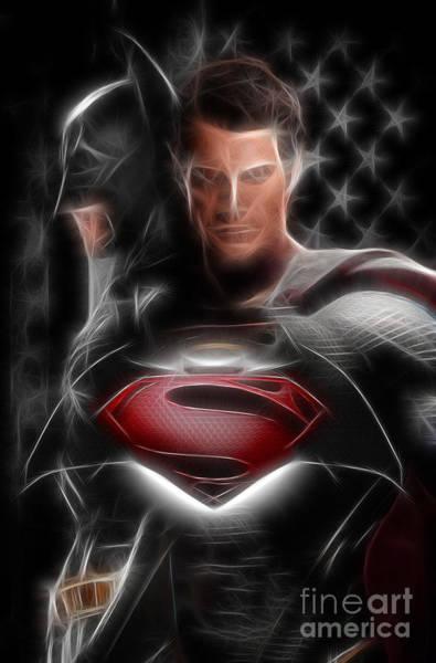 Batman Vs Superman  Art Print