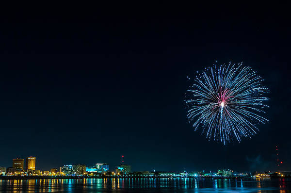 Photograph - Baton Rouge On The Fourth by Andy Crawford