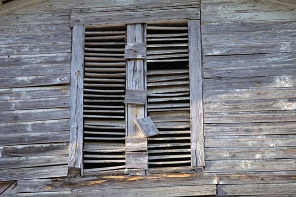 Photograph - Battered Window by Gordon Elwell