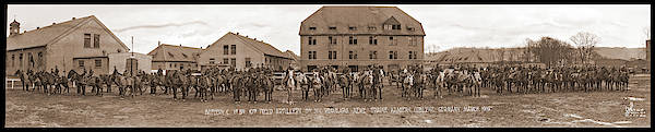 Platoon Wall Art - Photograph - Battery C. 1st Bn. 10th Field by Fred Schutz Collection