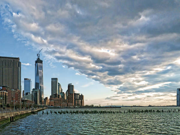 Photograph - Battery Park City 2013 by S Paul Sahm