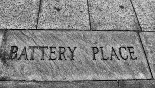 Battery D Photograph - Battery Place by Dan Sproul