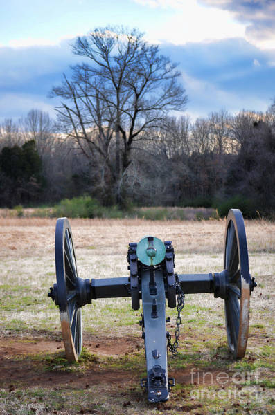 Photograph - Battle Artillery Canon II by Donna Greene