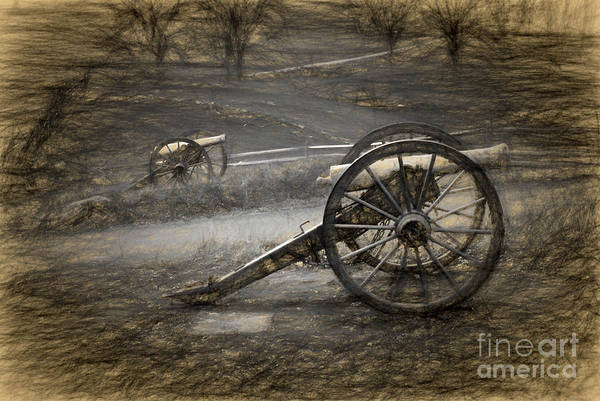 Photograph - Battle Guns by Paul W Faust -  Impressions of Light