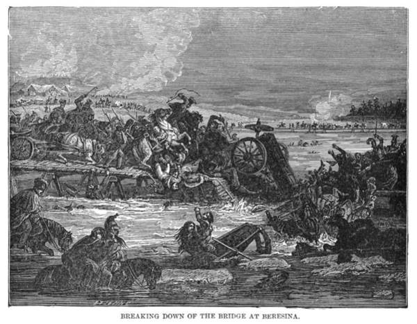 Wall Art - Painting - Battle Of Berezina, C1894 by Granger
