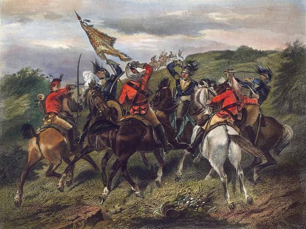 Wall Art - Photograph - Battle Of Cowpens, 1781 by Granger